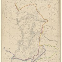 Mapa de la republica del Paraguay, formada por el coronel D. Alfredo M. Du Graty